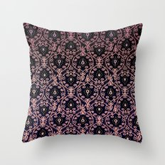 PAISLEY PATTERN IN PINK Throw Pillow