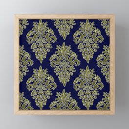 Ornate Vintage Pattern Framed Mini Art Print