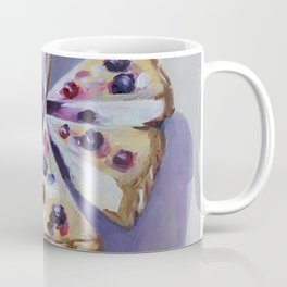 Desert, cake, food, original oil painting Coffee Mug
