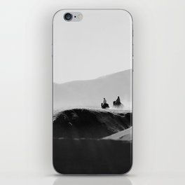 Two Riders iPhone Skin