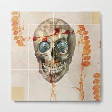 skull#04 Metal Print