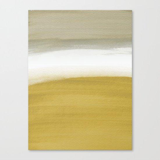 Horizon Gold Canvas Print