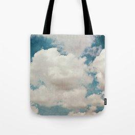 January Clouds Tote Bag