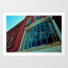 Window Through The Past Art Print