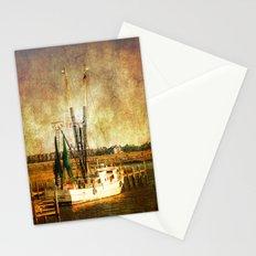 Old Shrimp Boat Stationery Cards