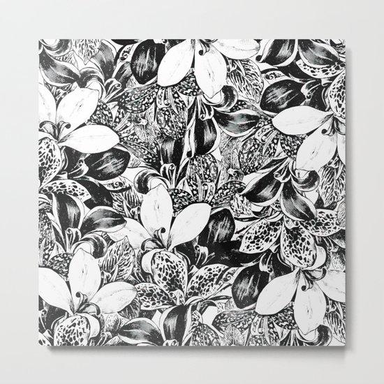 Monochrome #society6 #decor #buyart Metal Print