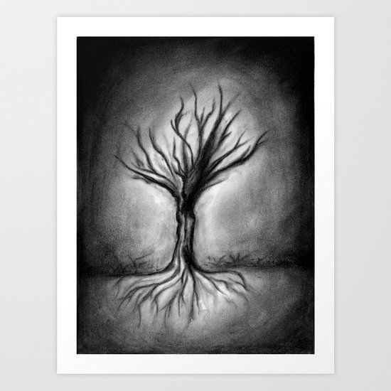 Untitled (Wraith) Art Print