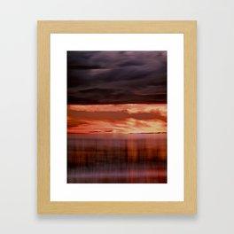 A storm (Digital Art) Framed Art Print