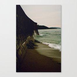 Gylly Beach - Curves Canvas Print