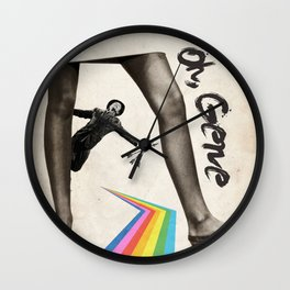 Oh, Gene Wall Clock