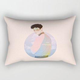 BLUE NBHD  Rectangular Pillow