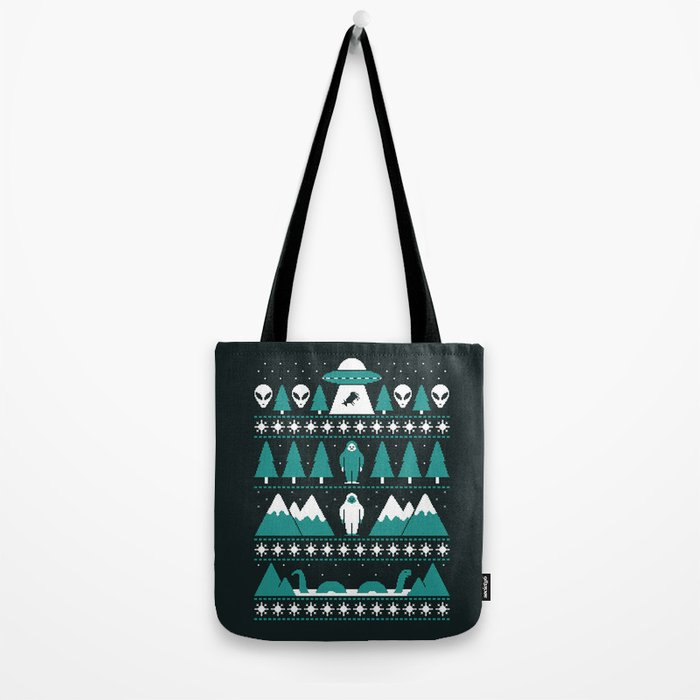 Paranormal Xmas Tote Bag