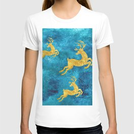 Golden Reindeer I T-shirt