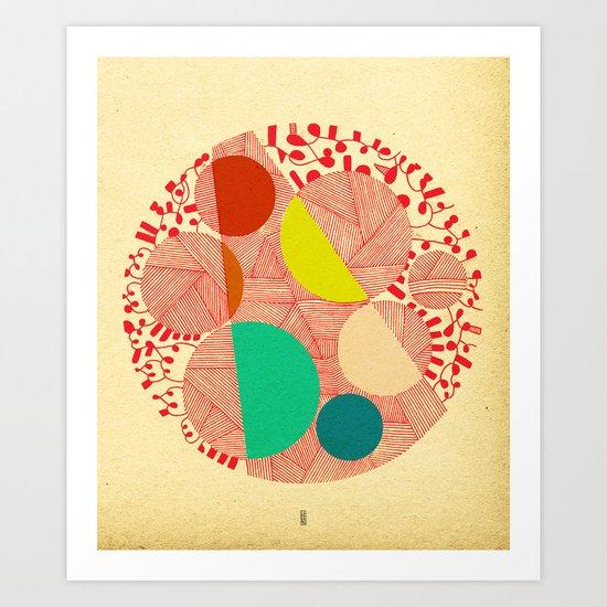 - cosmogony_02 - Art Print