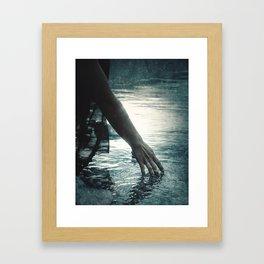 Frozen Waters Framed Art Print