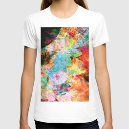 Watery Leaves (autumn, abstract) T-shirt
