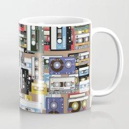 Retro cassette tape pattern Coffee Mug