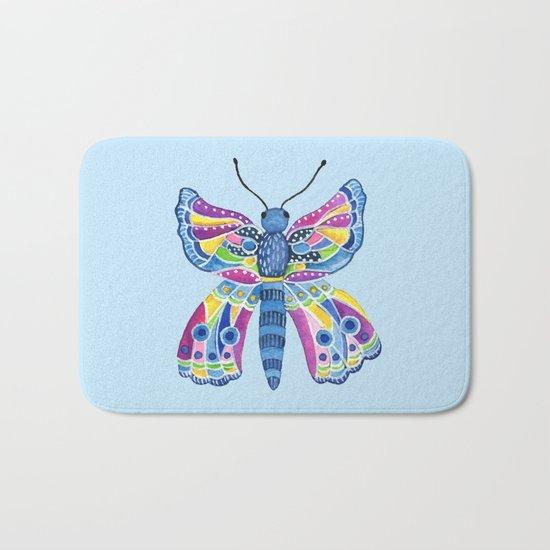 Butterfly I Bath Mat