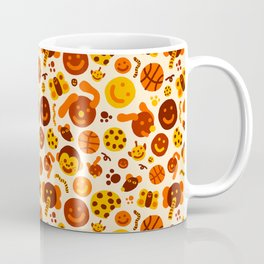 Silly Brown Pattern Coffee Mug