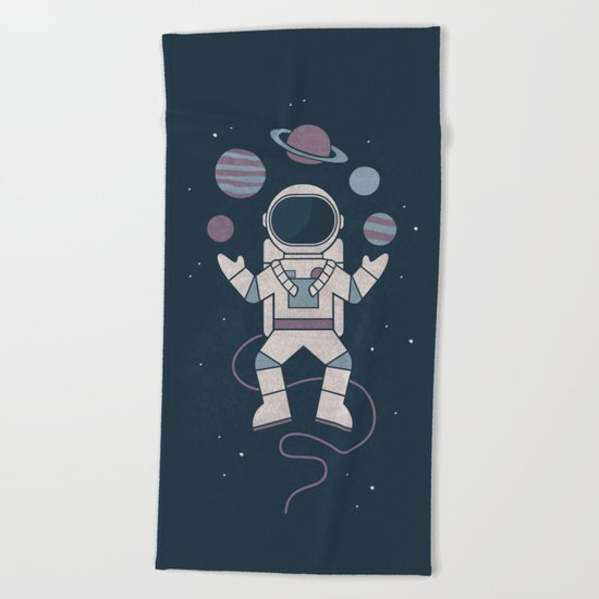 The Juggler Beach Towel