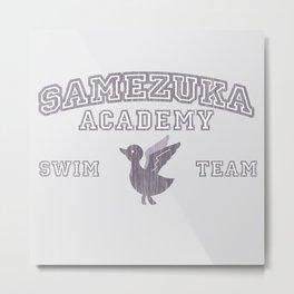 Samezuka - Duck Metal Print