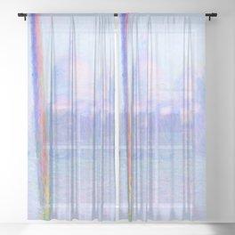 "Claude Monet ""Grand Canal Venice"" Sheer Curtain"
