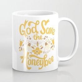 God Save the Honeybee Coffee Mug