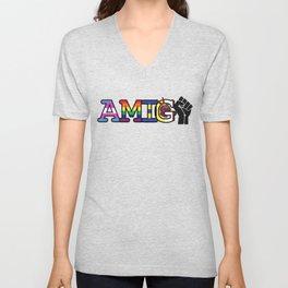 Amiga + Amigo Unisex V-Neck