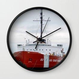 USCG Cutter Mackinaw 83 Wall Clock