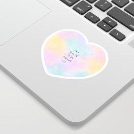 The World is so Sweet Sticker