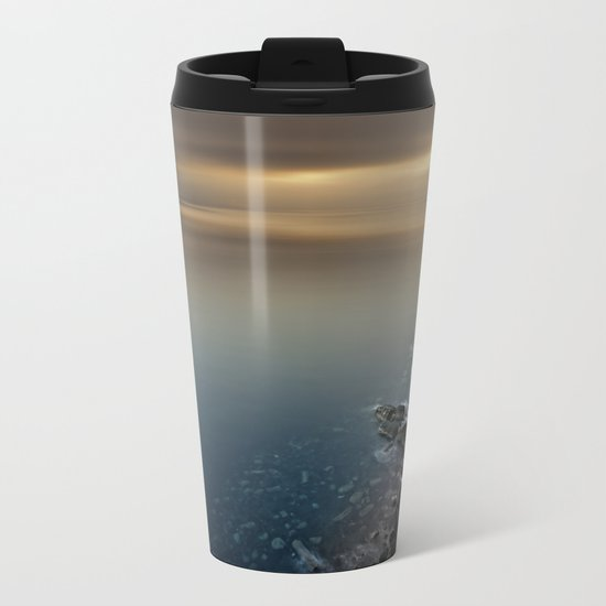 Don't Be Afraid Metal Travel Mug