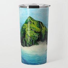 Big Tropical Island Travel Mug