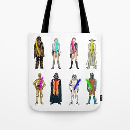 Naughty Lightsabers - Light Tote Bag