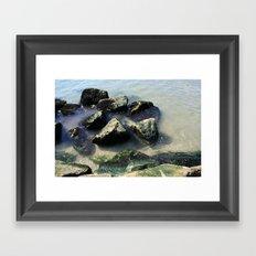 Endless Summer Beach  Framed Art Print