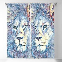 SmartMix Animal- Lion Blackout Curtain