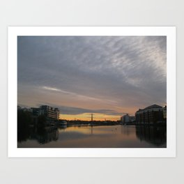 Dublin Morning Art Print