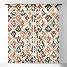 Aztec Symbol Pattern Col Mix Blackout Curtain