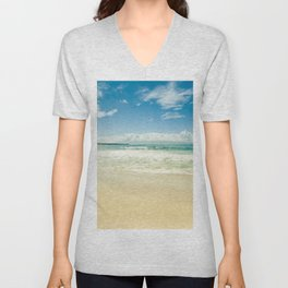Kapalua Beach Honokahua Maui Hawaii Unisex V-Neck