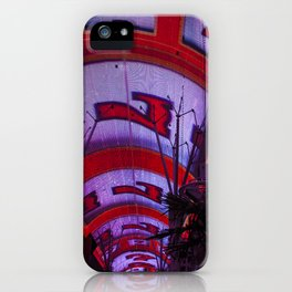 Lucky Number 7, Fremont Street Experience Downtown Las Vegas iPhone Case