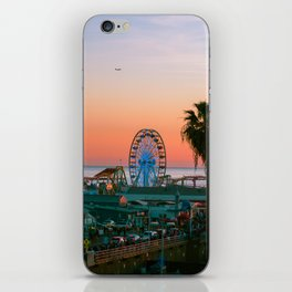 Sunset on the Pier iPhone Skin