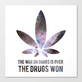 The Drugs Won (3) Canvas Print