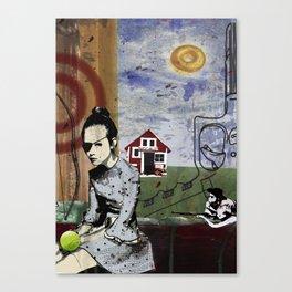 My summer in Poland Canvas Print