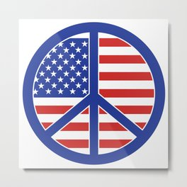 Peace in America Metal Print