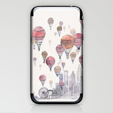 Voyages Over Santa Monica iPhone & iPod Skin