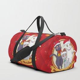 Xmas Cats! Duffle Bag