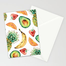 Crazy About Fruit Stationery Cards