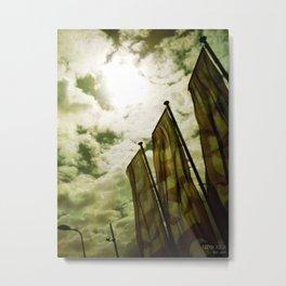 Feed me Clouds 2 Metal Print