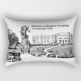 Moses-Ludington Hospital 1930 Rectangular Pillow