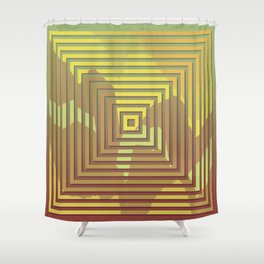 TOPOGRAPHY 2017-018 Shower Curtain