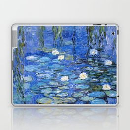 waterlilies a la Monet Laptop & iPad Skin